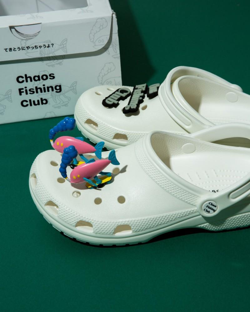 Chaos Fishing Club Crocs