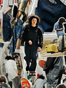 知る人ぞ知るパンツの復刻が<br>スケーターを夢中にさせる<br>-Lee Pipes-