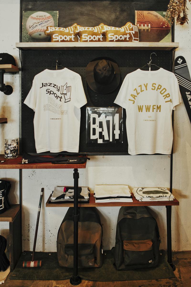 Tシャツをキッカケに音楽を聴く<br>– JAZZY SPORT SHIMOKITAZAWA –