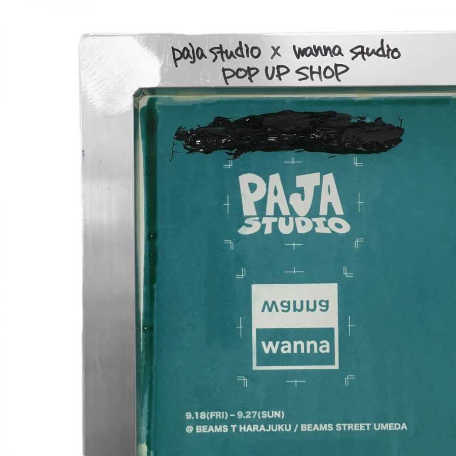 PAJA STUDIO x wanna studio POP UP SHOP