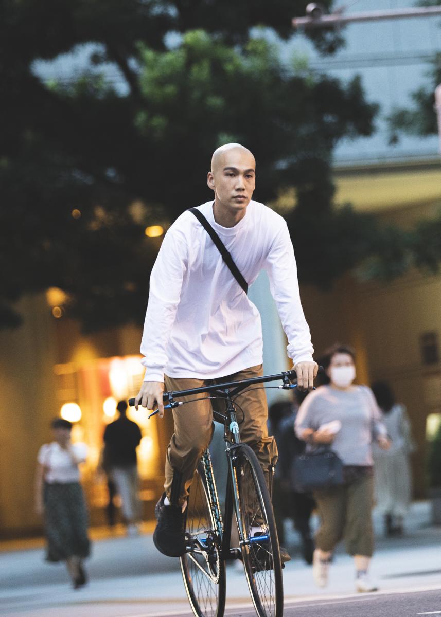 自転車で季節を感じる