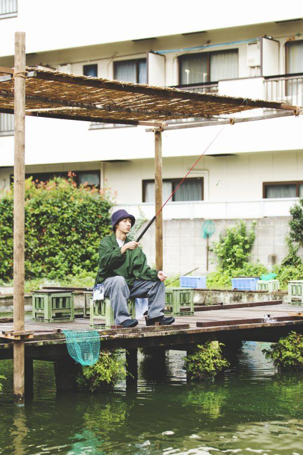 釣り堀に行く<br>-寿々木園-